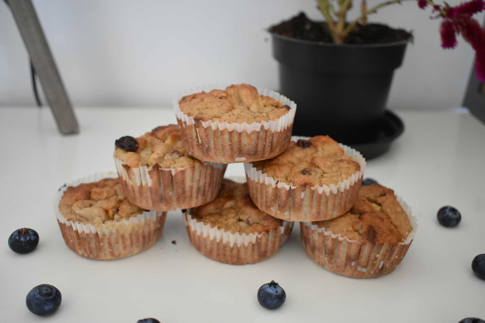 Havermoutmuffins met appel