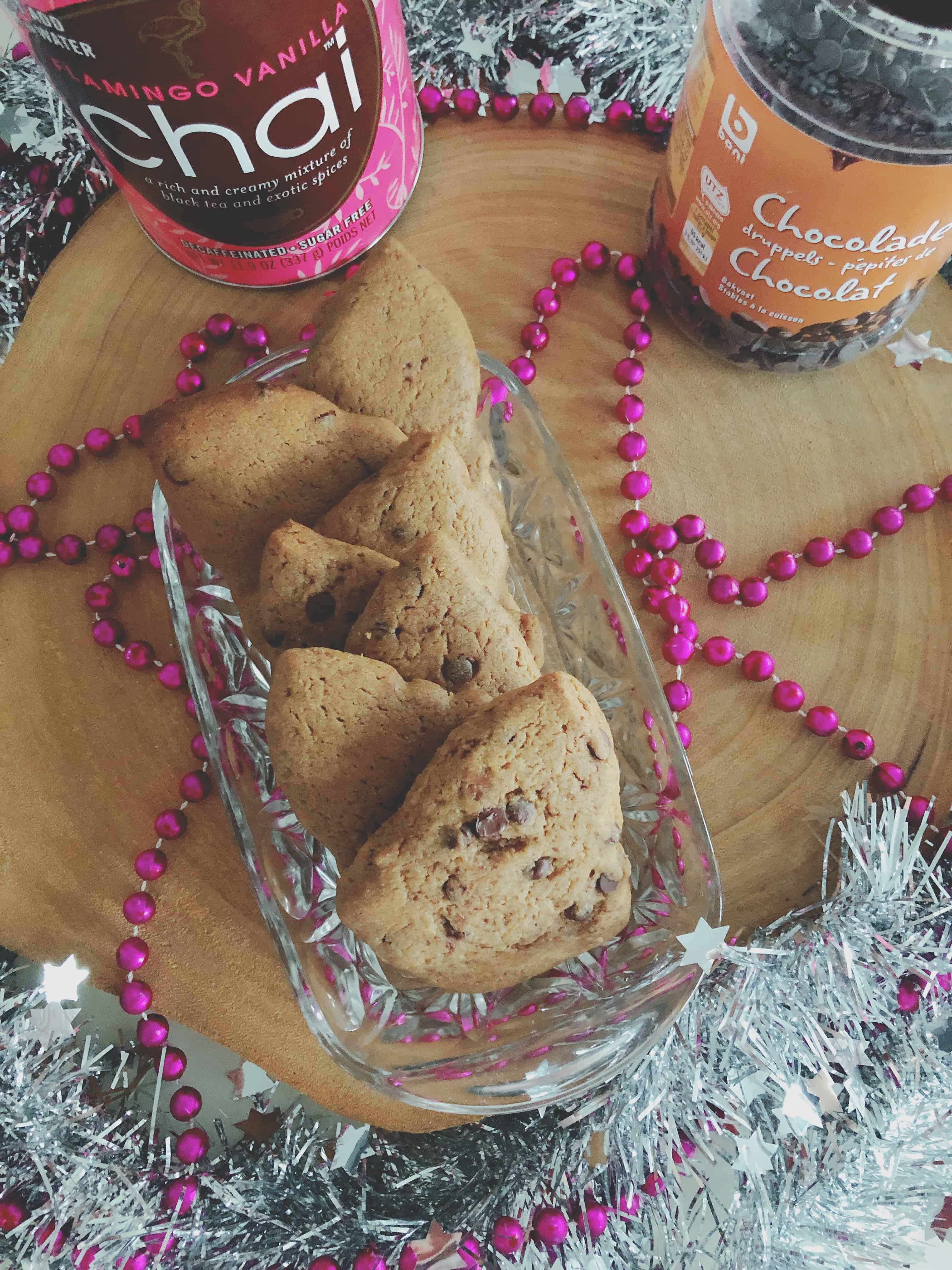 Chai Chocolate Chip Cookies