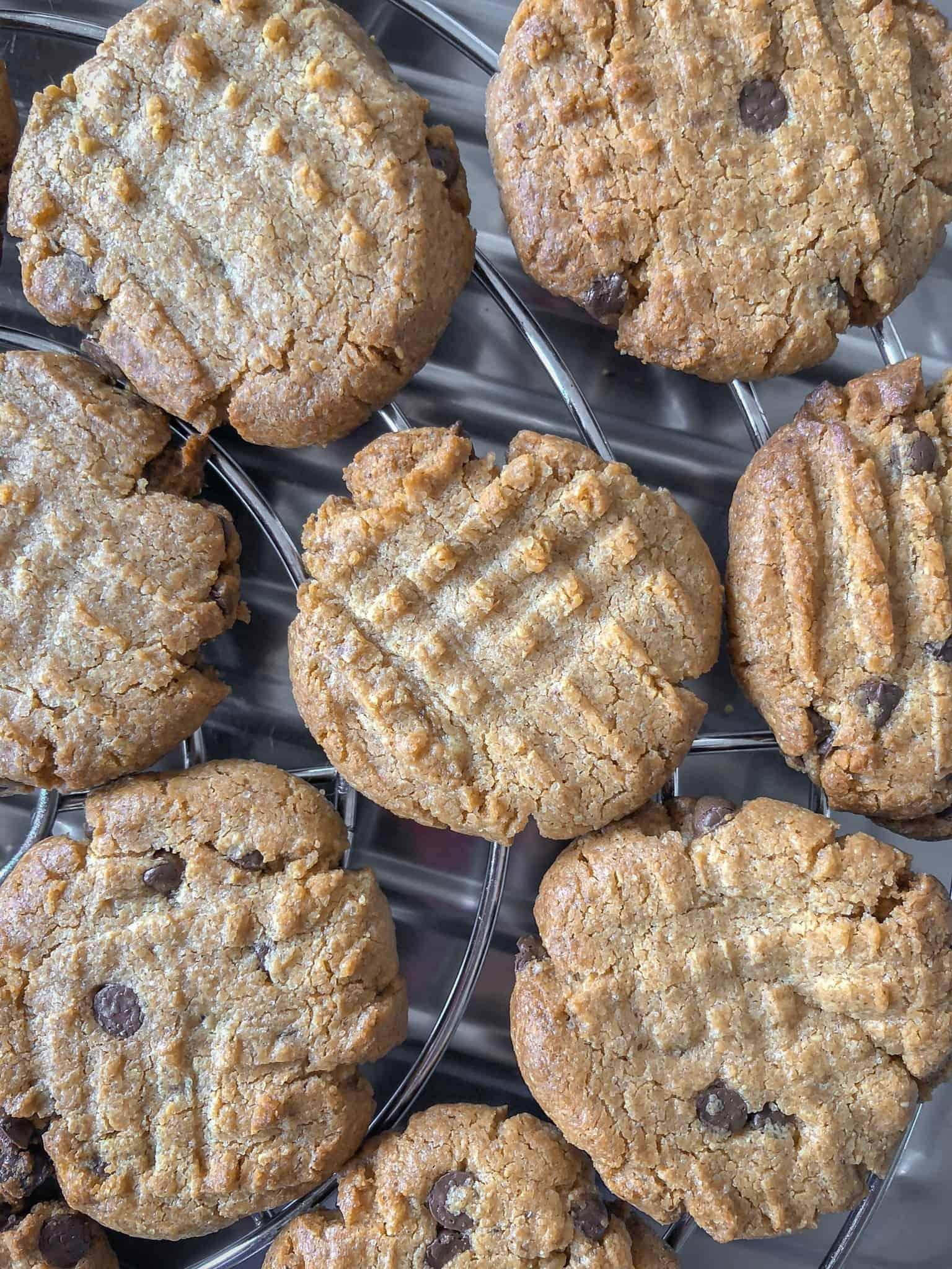 Pindakaas cookies