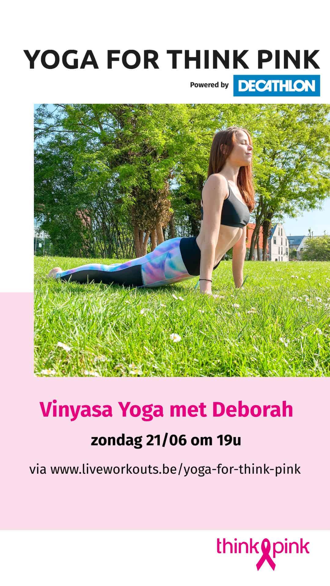 Yoga for Think Pink - Deborah Standaert